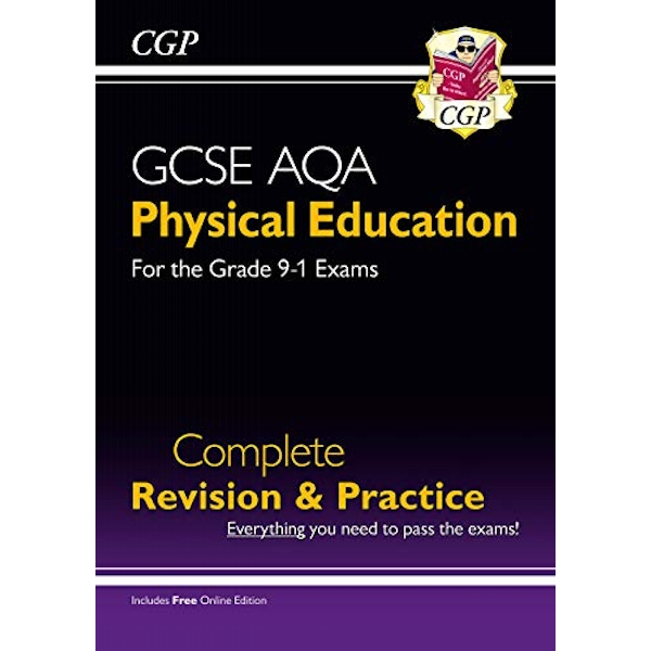 New Grade 9-1 GCSE Physical Education AQA Complete Revision & Practice (with Online Edition)  Paperback / softback 2018