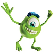 Monsters University Scare Students - Mike