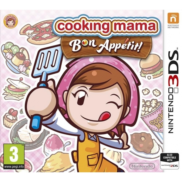 Cooking Mama 5 Bon Appetit 3DS Game