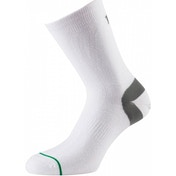 1000 Mile Ultimate Tactel Sock White Mens M