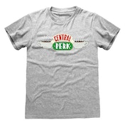 Friends - Central Perk Unisex Small T-Shirt - Grey