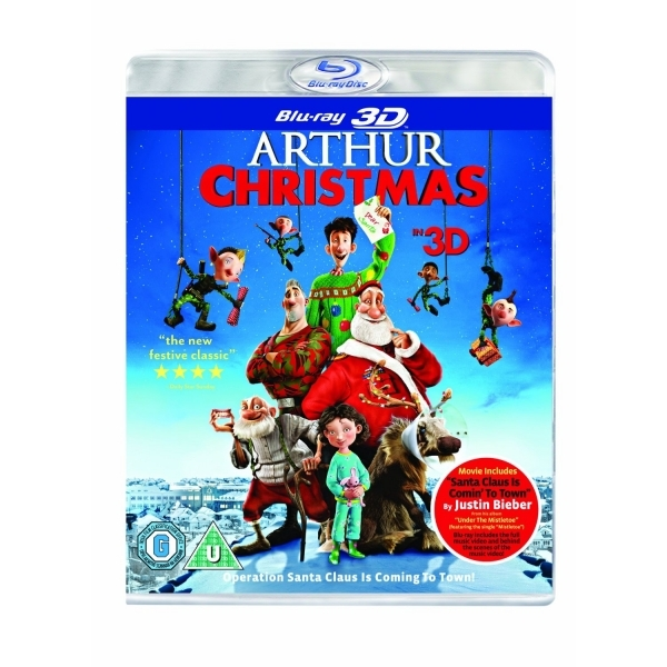 Arthur Christmas Blu-ray 3D + UV Copy