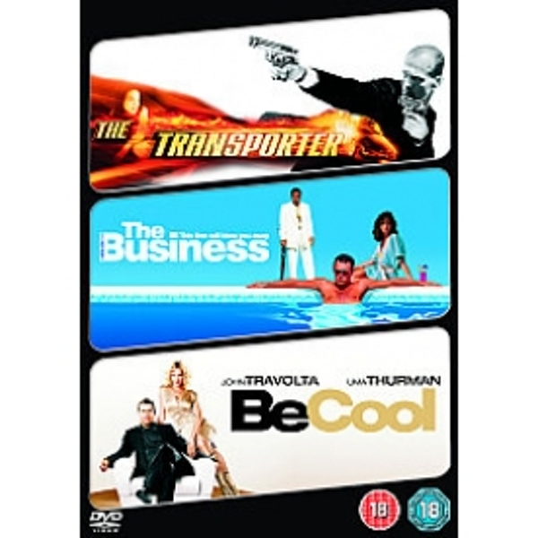 Business/ The Transporter/ Be Cool DVD