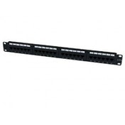 StarTech 24 Port 1U Rackmount Cat 6 110 Patch Panel