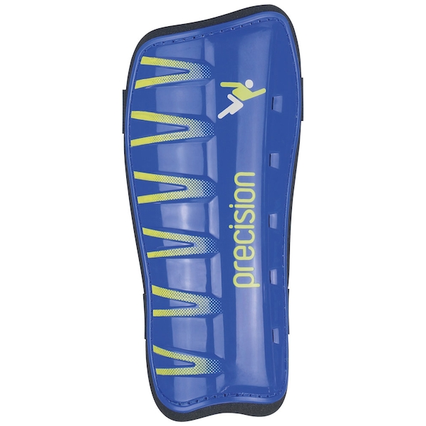 "Precision League ""Slip-in"" Pads Blue/Fluo Lime - Large"