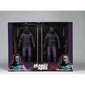 Neca Planet of the Apes 7 Inch Action Figure Soldier 2 Pack