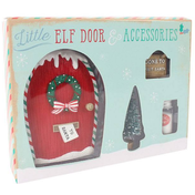 Little Elf Door And Accessories Gift Box