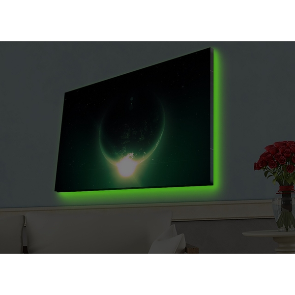4570HDACT-015 Multicolor Decorative Led Lighted Canvas Painting