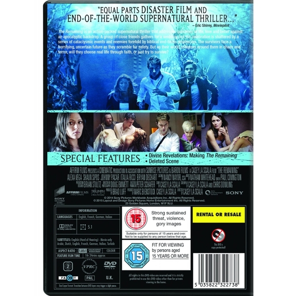 The Remaining DVD - Image 2