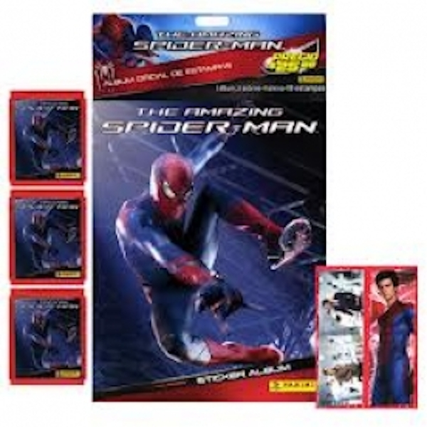 Amazing Spider-Man Sticker Album