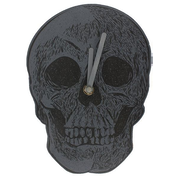 Cabinet of Curiosities Skull Clock
