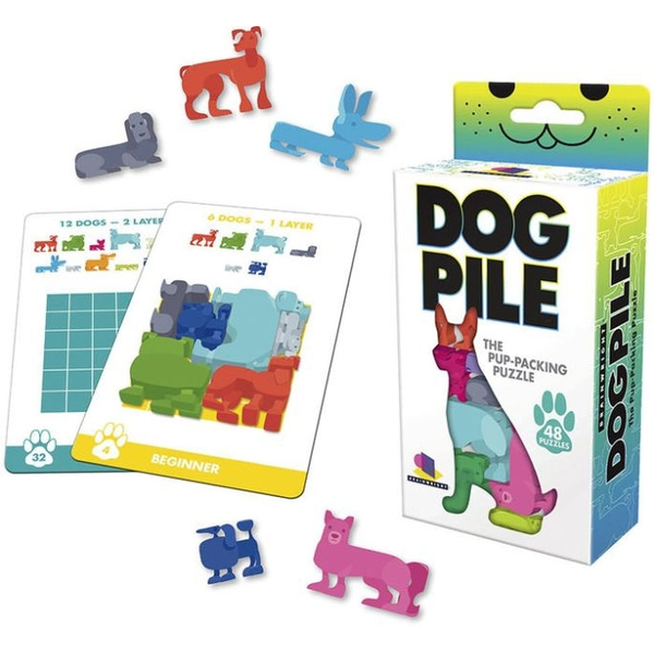 Dog Pile Puzzle Game