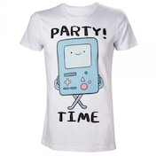 Adventure Time Beemo Party Time! X-Large T-Shirt - White