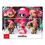 Octoling Triple Pack (Octoling Boy + Octopus + Girl) Amiibo (Splatoon Collection) for Nintendo Switch