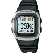 Casio W96H-1AVEF Digital Watch with Extended Battery Life Timer