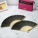 Japanese Bamboo Folding Fans - Pack of 10 | Pukkr - Image 2