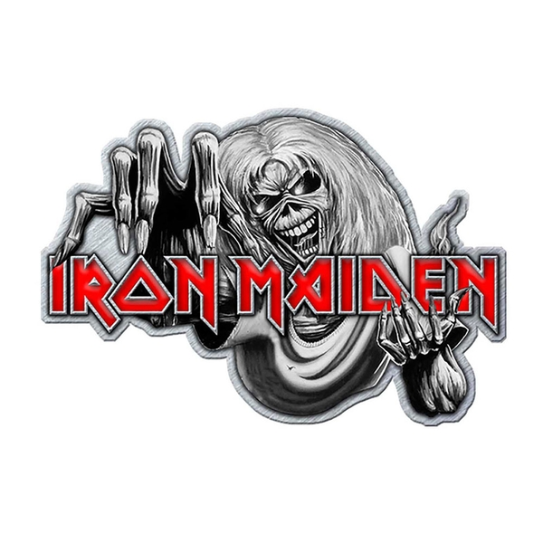 Iron Maiden - Number of the Beast Pin Badge