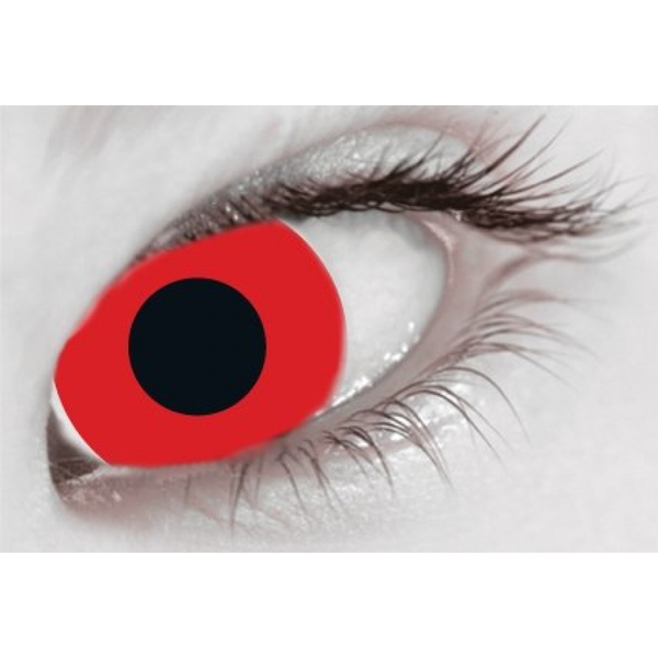 Bloody Red 1 Day Halloween Coloured Contact Lenses (MesmerEyez XtremeEyez) - Image 2