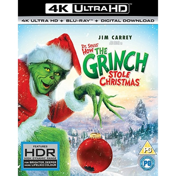 How the Grinch Stole Christmas 4K UHD Blu-ray