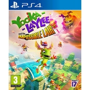 Yooka-Laylee and the Impossible Lair PS4 Game (Pre-Order Bonus DLC)
