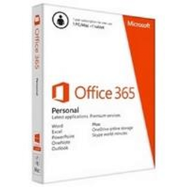Microsoft Office 365 Personal Subscription 1 Year Medialess P2