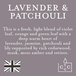 Lavender & Patchouli (Pastel Collection) Reed Diffuser - Image 4
