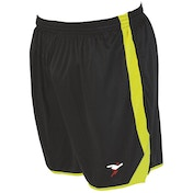 Precision Roma Shorts Junior Black/Fluo Yellow/Fluo Yellow -  S Junior 22-24""