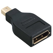Hama DisplayPort Adapter, MiniDisplayPort plug - DisplayPort socket
