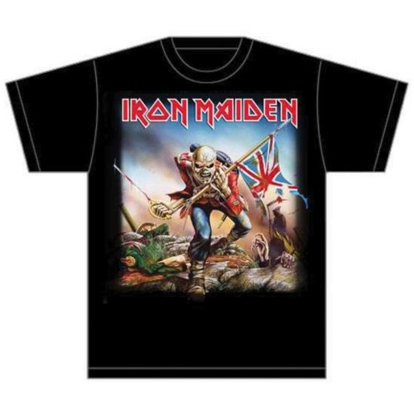 Iron Maiden - Trooper Unisex Small T-Shirt - Black
