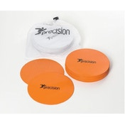 Precision Large Round Rubber Marker Discs Orange (Set of 20)