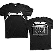 Metallica - Master of Puppets Photo Men's X-Large T-Shirt - Black