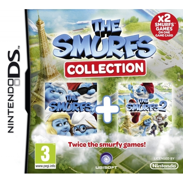 Smurfs Collection 1 & 2 Double Pack DS Game