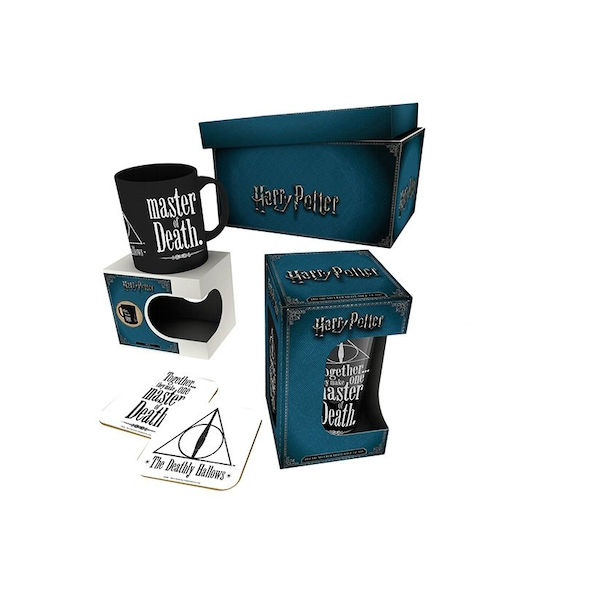 Harry Potter - Deathly Hallows Drinkware Gift Set