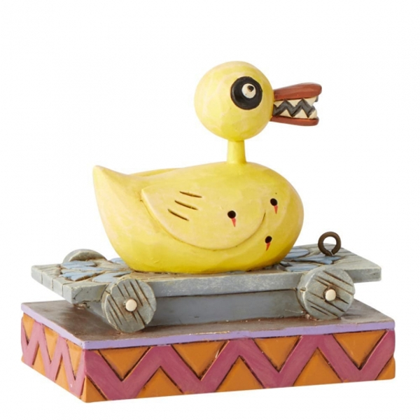 Christmas Duck.Killer Duck The Nightmare Before Christmas Disney Traditions Figurine