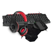Speedlink Advanced PC Gaming Bundle Kit (Keyboard, Mouse, Mousepad and Headset)