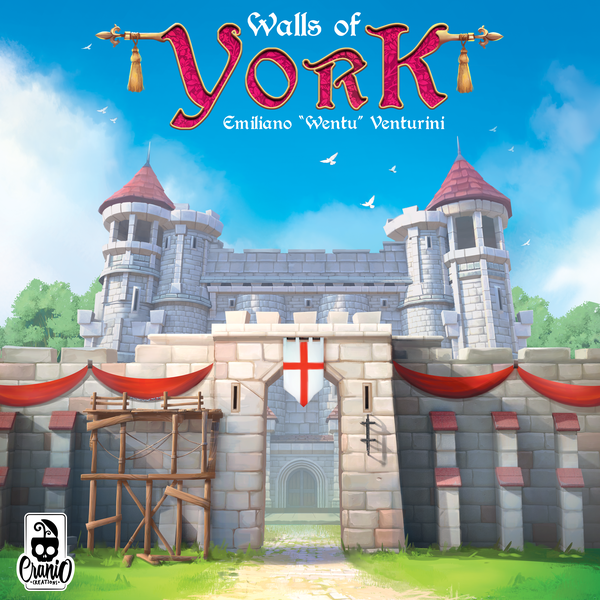 Walls of York Board Game