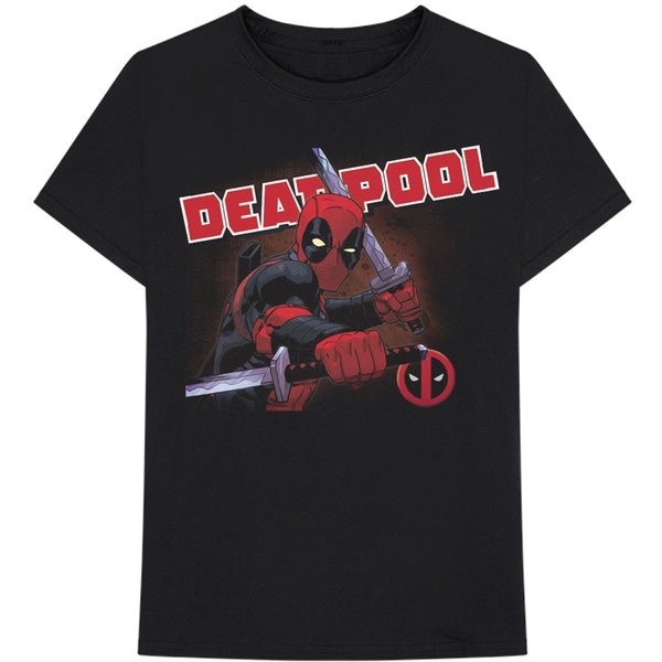 Marvel Comics - Deadpool Cover Men's Small T-Shirt - Black