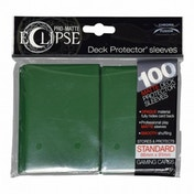 Ultra Pro Eclipse PRO-Matte Forest Green Standard 80 Sleeves (case of 6)