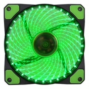 Evo Labs Vegas 120mm 1300RPM 32 x Green LED 9 Blade Fan