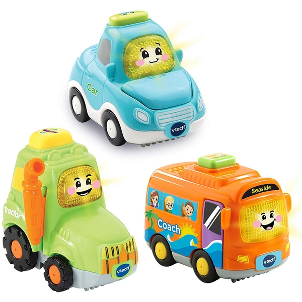 VTech Toot-Toot Drivers - 3 Car Pack Everyday Vehicles - Image 1