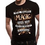 Harry Potter - Magic Wands Men's XX-Large T-Shirt - Black