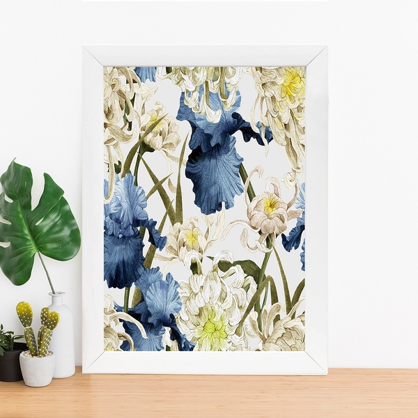 BC251838712 Multicolor Decorative Framed MDF Painting