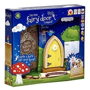 The Irish Fairy Door Company Magical Yellow Arched Door