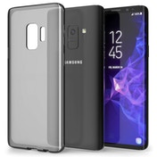 Samsung Galaxy S9 TPU Gel Case - Smoke Black