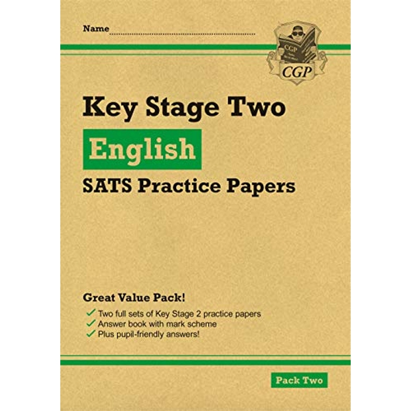 New KS2 English SATS Practice Papers: Pack 2 (for the 2021 tests)  Paperback / softback 2018