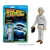 Doc Emmett Brown (Back to the Future) Funko ReAction Figure 3 3/4 Inch