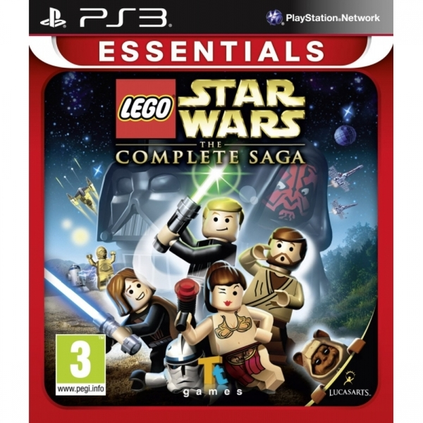 (Pre-Owned) Lego Star Wars The Complete Saga (Essentials) Game PS3
