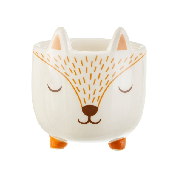 Sass & Belle Mini Woodland Fox Planter