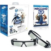 Samsung Twin 3D Glasses Package + Megamind 3D Blu-ray