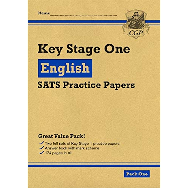 New KS1 English SATS Practice Papers: Pack 1 (for the 2021 tests)  Paperback / softback 2018